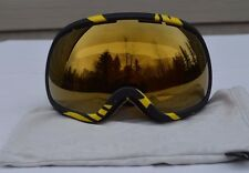 2017 NWOB VONZIPPER FISHBOWL SNOWBOARD GOGGLES $170 black lager vintage yellow