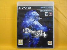 Ps3 demons souls stratégique rpg game Playstation PAL version britannique du démon