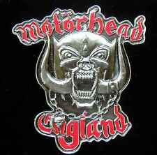 MOTORHEAD ENGLAND BELT BUCKLE LICENSED BUCKLES NEW!