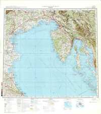 Russian Soviet Military Topographic Maps - TRIESTE (Italy) 1:500 000, ed.1979