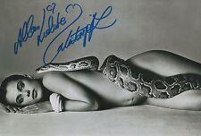 Nastassja Kinski Autogramm signed 20x30 cm Bild s/w