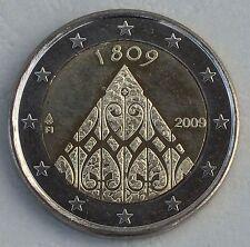 "2 Euro Finnland 2009 ""200 J. Autonomie"" unz"