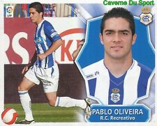 PABLO OLIVEIRA ESPANA RC.RECREATIVO STICKER LIGA ESTE 2009 PANINI