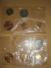 1964 1965 Mexican Mint 2 Sets 9 Coins UNC BU 1 5 20 25 50 Centavos Mexico SEALED