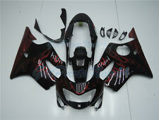 Fit for Honda 1999 2000 CBR600 F4 Fairing Black Plastic Injection ABS dB0