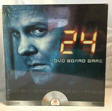 24 DVD Board Game for Teens Adults TV Show CTU Agents Emmy Award Collect Clues