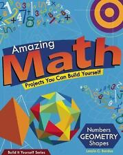 Build It Yourself Ser.: Amazing Math Projects by Laszlo C. Bardos (2010,...