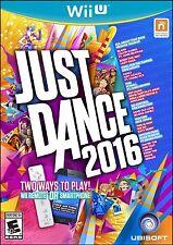 NEW Just Dance 2016 (Nintendo Wii U, 2015)