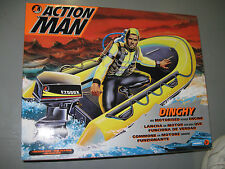 Hasbro Action Man 1/6th Scale Dinghy With Motorized Outboard Motor, NIB