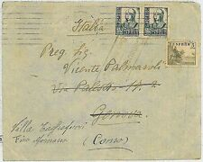 SPAIN - POSTAL HISTORY - GUERRA CIVIL: Cover with Censura Militar SAN SEBASTIAN