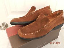 RARE JOHNSTON & MURPHY Brinker suede loafer SLIP-ON 10.5  NIB! $175 J&M Portugal