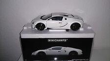 1:18 Minichamps Bugatti Veyron Super puertos Weiss OVP nuevo