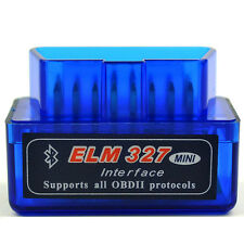 Blau Mini OBD2 OBDII ELM327 V1.5 Android Bluetooth Adapter Auto Scanner Torque