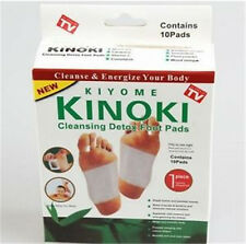 10 pcs Kinoki New In Box Detox Foot Pads Patches With Adhesive Fit Health Care