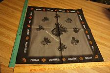 Harley-Davidson Milwaukee Eight Bandana and Poster...New