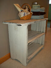 Double shelf Bench Country Decor-Plant bench or shoes Color Choices  USA Made