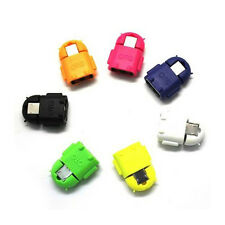 5 PCS New Robot Micro USB Host OTG USB card reader Adapter Cable Useful