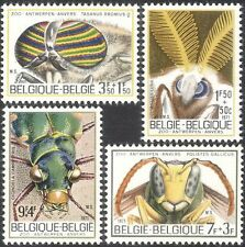 Belgium 1971 Wasp/Fly/Moth/Beetle/Insects/Beetles/Moths/Nature 4v set (n32284)