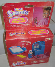 #7857 NRFB Vintage Galoob Sweet Secrets Pens N Friends Let's Write Kitty