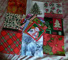 15  Lovely Holiday / Christmas Paper Napkins ~ Art, Collage, Decoupage, Crafts