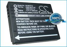 3.7V battery for Panasonic DMW-BCF10PP, CGA-S106C, CGA-S/106C, Lumix DMC-TS3D