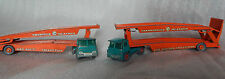 2 Matchbox Major pack Guy Warrior car Transporters playworn spares repairs