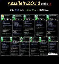 Diablo 3 RoS Ps4/Xbox One - Alle 11 Legendären Uralten Waffen - UNMODDED - SC