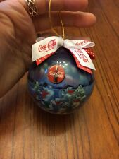 Coca Cola Plastic Christmas Ornament