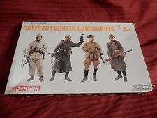 1/35 Dragon Easter Front Ostfront Winter Combatants German & Russian 2 ea # 6652