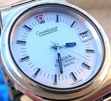 Omega Constellation F300Hz Electronic Chronometer 198.0024 Cal. 1250 36mm Watch