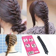 Hot Lady Fashion Hair Styling Clip Stick Bun Maker Braid Tool Hair Accessories