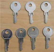 SPARE KEYS FOR RV-TRUCK-TOOL BOX-T HDL-TOPPERS-TRUCK CANOPY-CAMPER AUC!