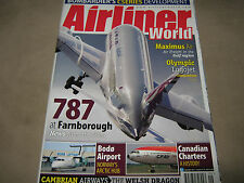 NEW! AIRLINER WORLD September 2012 Boeing 787 Canadian Charters History Airplane