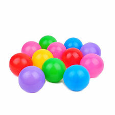 100X Multi-Color Cute Kids Soft Play Balls Toy for Ball Pit Swim Pit Ball PoolLM