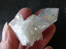 ANGEL / OPAL AURA (20.9 grams / 44 mm) NATURAL CRYSTAL (5) 'ANGELIC CONNECTION'