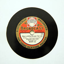 "MELLOW AND RICH ""Say A Little Prayer For Me"" (E+) 7"" BROADCAST 627 [78 RPM]"