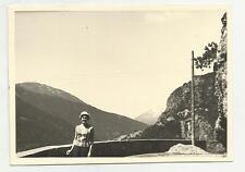 91603 FOTOGRAFIA FOTO ORIGINALE BAGNI VECCHI DI BORMIO LUGLIO 1960