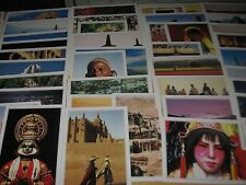 Postcards of the World Edito - Services Geneva 1989- 1990 lot of 58 cards