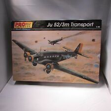 Pro Modeler 1/48 Ju 52/3m Transport Airplane Model Kit #85-5944 WWII 1999