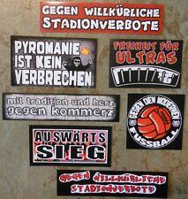 Aufkleber Set #34 + ULTRAS Protest-Sticker + Originalware + Restposten + 7 Stück