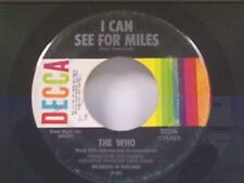 "THE WHO ""I CAN SEE FOR MILES / MARY-ANNE WITH SHAKY HANDS"" 45"