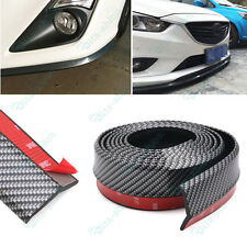 1x New 2.5M Rubber Front Bumper Lip Splitter Chin Spoiler Body Trim For Nissan