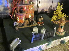HALLOWEEN Village ADD-ON Filler field riser Display platform base Dept 56 Lemax