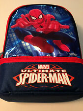 Spiderman Thermos Dual Compartment Lunch Bag NEW NWT NYC Seller