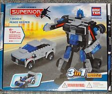 Peace Keeper Superior BricTek Building Block Construction Toy Brick 3 in 1