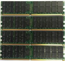 16GB 4x 4gb Dell PowerEdge 1800 1850 1855 2800 2850 SC1420 SC1425 Memory RAM