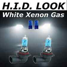 HB4 9006 501 55w White Xenon HID Look Fog Light Bulbs E Marked