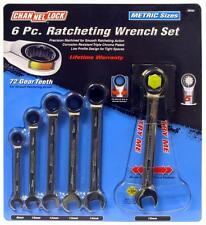 Channellock 38049 Metric Ratcheting Wrench Set In Display Carton - 6-Piece