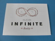 INFINITE - REALITY 5TH MINI ALBUM [NORMAL EDITION] CD W/ PHOTO CARD K-POP