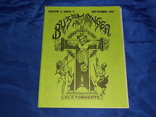 Buzzmonger V2#7 Sept 1995 Dallas TX Deep Ellum Punk Music Fanzine Pennywise FN